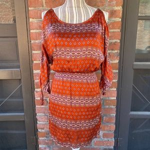 Guess Los Angeles Burnt Orange Dress